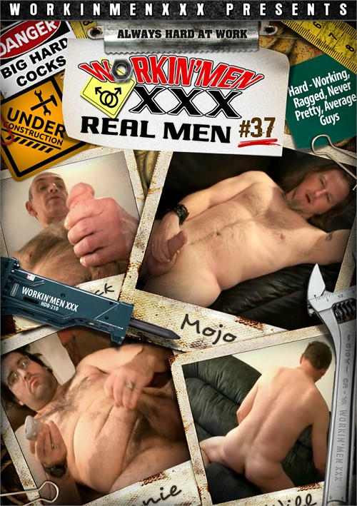Real Men 37 Boxcover