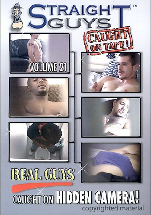 Straight Guys Caught On Tape!  Vol. 21 Boxcover