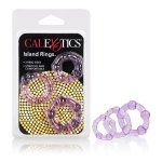 Silicone Island Rings - Purple Sex Toy