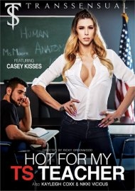 Hot For My TS Teacher porn DVD from TransSensual.