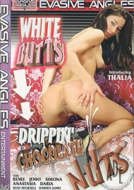 White Butts Drippin' Chocolate Nuts Porn Video