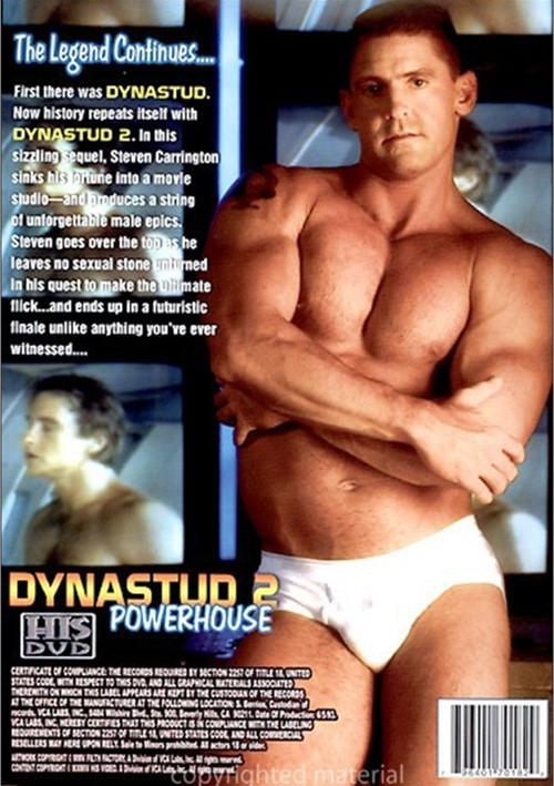 Dynastud 2 Powerhouse Cover Front