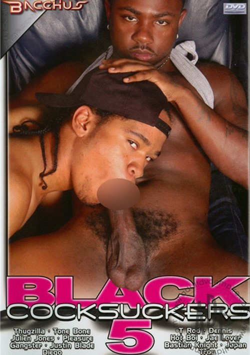 Black Cocksuckers 5 Boxcover