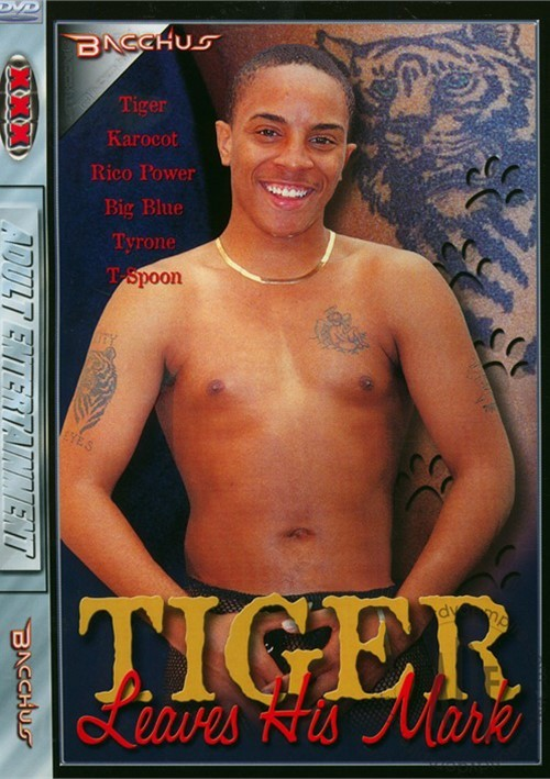 Tiger Leaves His Mark Boxcover