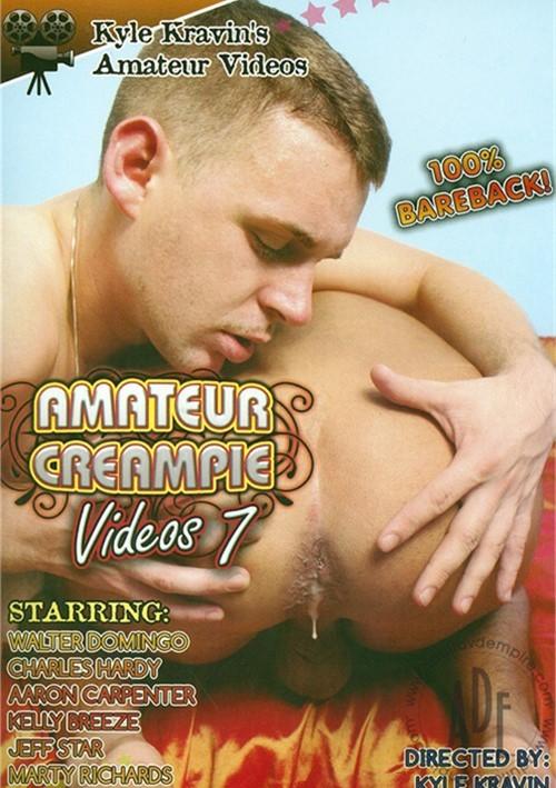 Kyle Kravin's Amateur Creampie Videos 7 Boxcover