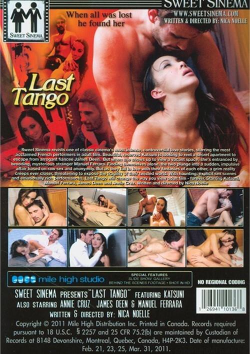 страстное танго в париже порно
