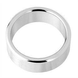 Alloy Metallic Ring  - Large - 1.75 Inch Diameter Sex Toy