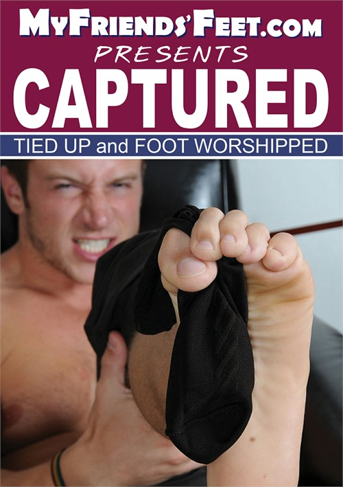 Captured Tied Up and Foot Worshipped Boxcover