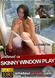 Skinny Window Play Porn Video