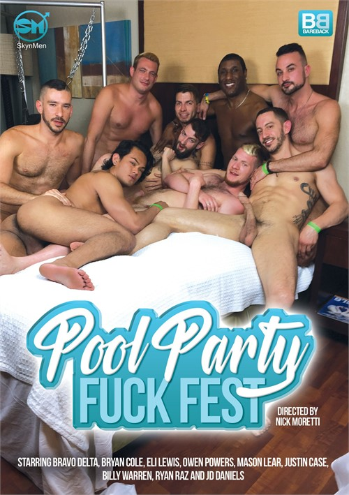 Pool Party Fuckfest Boxcover