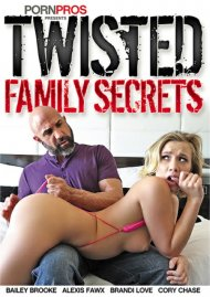 Twisted Family Secrets porn DVD shot in HD.