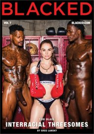 Interracial Threesomes Vol. 7 porn DVD from Blacked.