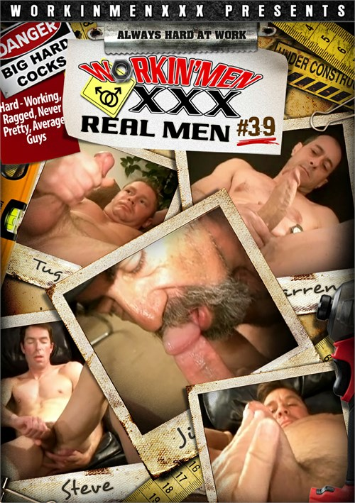 Real Men 39 Boxcover