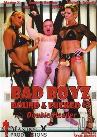 Bad Boyz Bound & Fucked #2: Double Header Porn Video