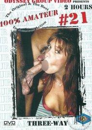 100% Amateur #21: Three-Way Porn Video