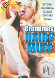 Grandmas Hairy Muff Porn Video