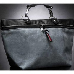 Liberator Moto Waxed Canvas Toy Bag - Grey Sex Toy
