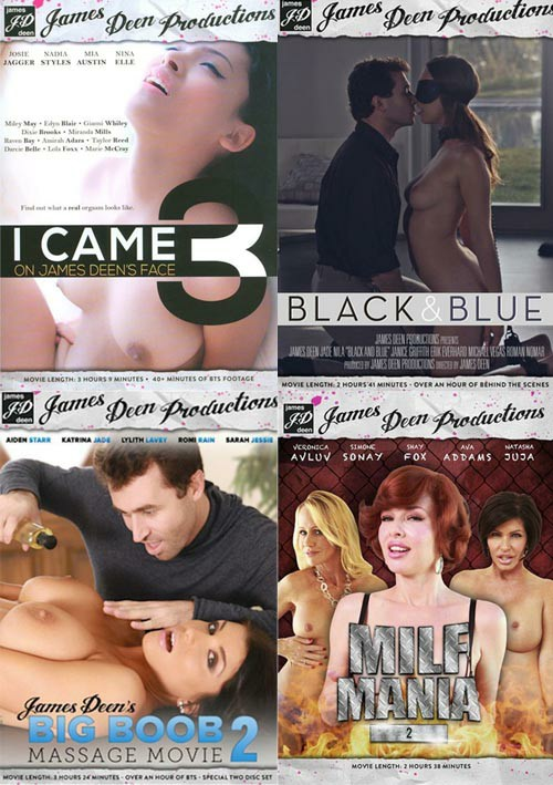 James Deen Productions: 4-Pack #3