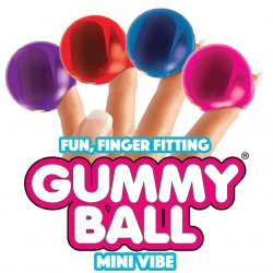 Rock Candy - Gummy Ball Finger Vibe - Color Chosen At Random Sex Toy