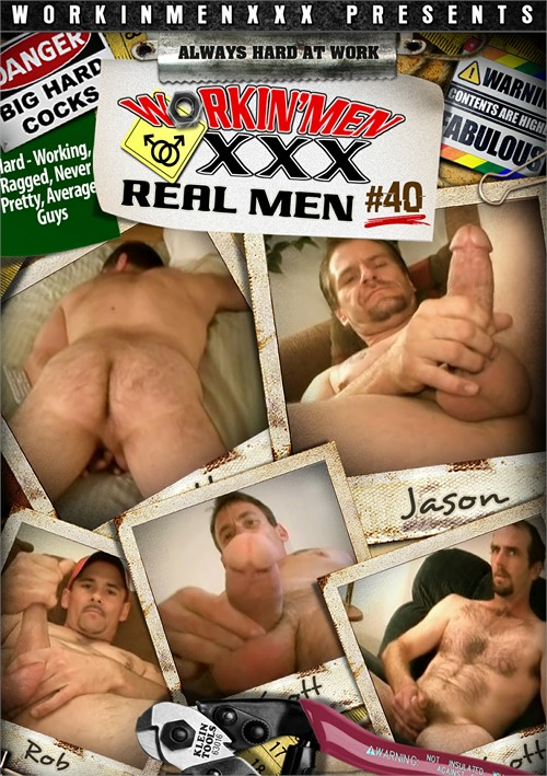 Real Men 40 Boxcover
