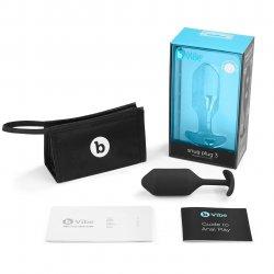 B-Vibe Snug Plug 3 - Black Sex Toy