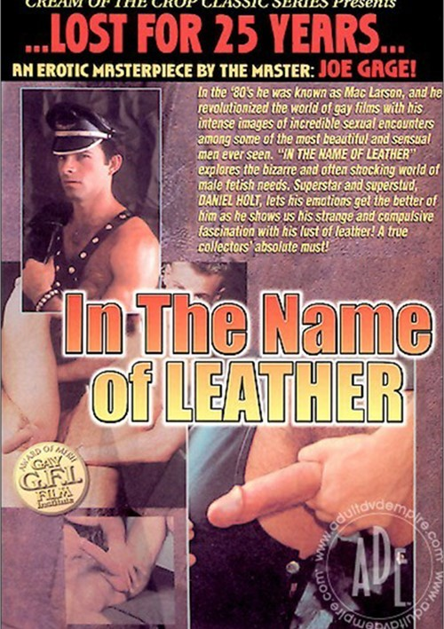 In the Name of Leather image