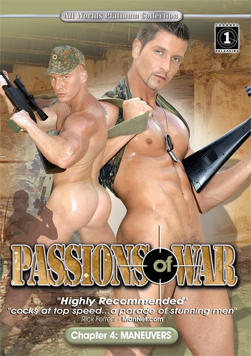 Passions of War 4 Maneuvers Cover Front