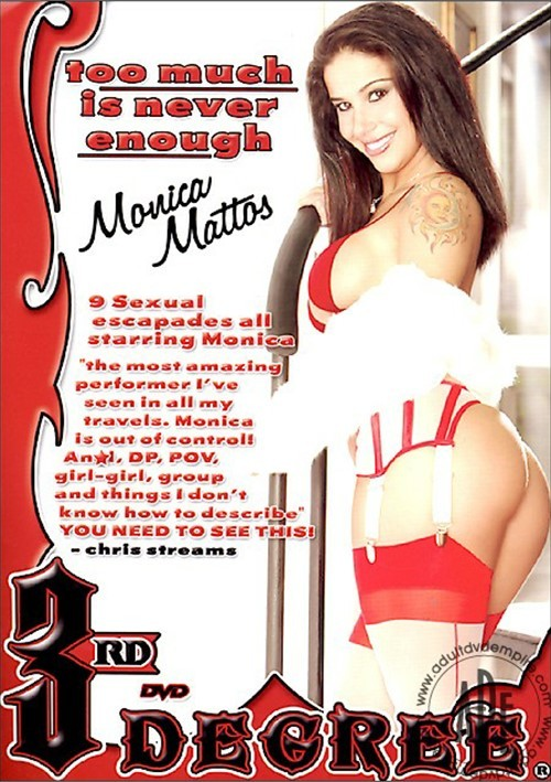 Too Much Is Never Enough: Monica Mattos (2006) | Adult DVD Empire