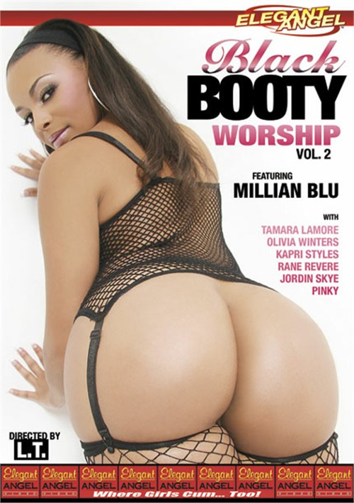 Ebony booty porno video