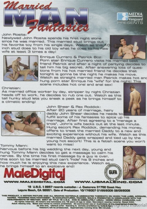 Married Men DVD Gay Porn