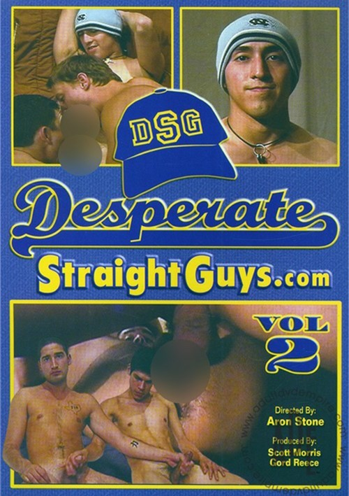 DesperateStraightGuys Vol. 2 Boxcover