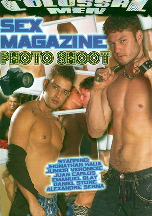 Sex Magazine Photo Shoot Boxcover
