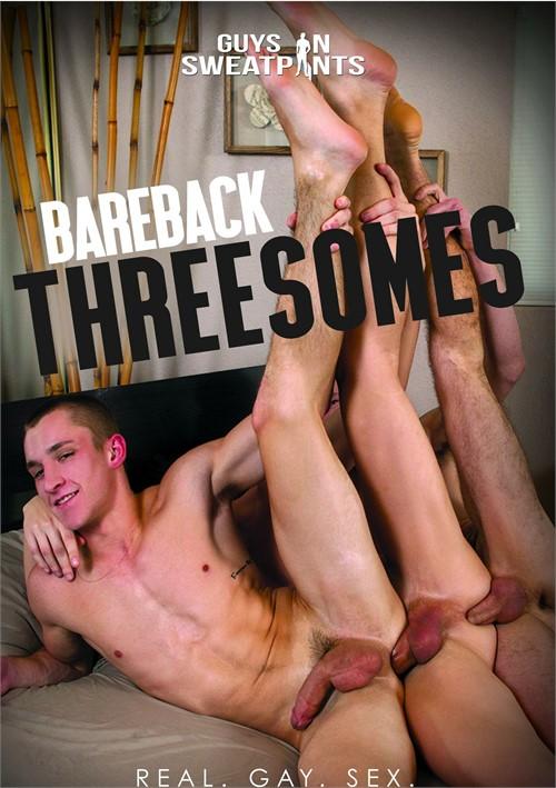 Bareback Threesomes Vol. 1 Boxcover