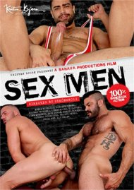 Sex Men gay porn DVD from Kristen Bjorn Video