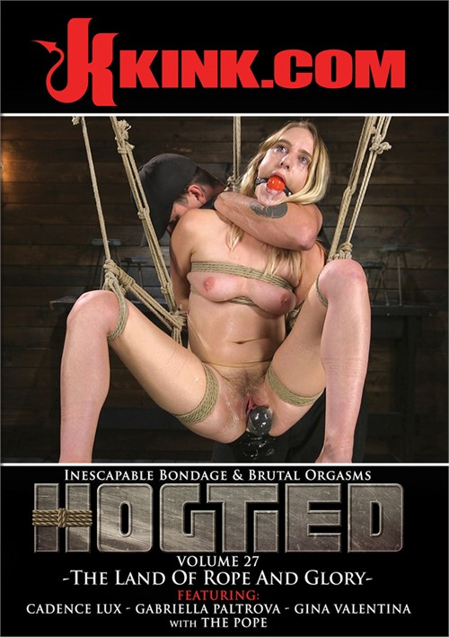 Hogtied Vol. 27: Land of Rope and Glory, The Boxcover