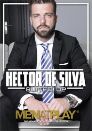Hector De Silva Suited Up gay porn DVD from Men at Play