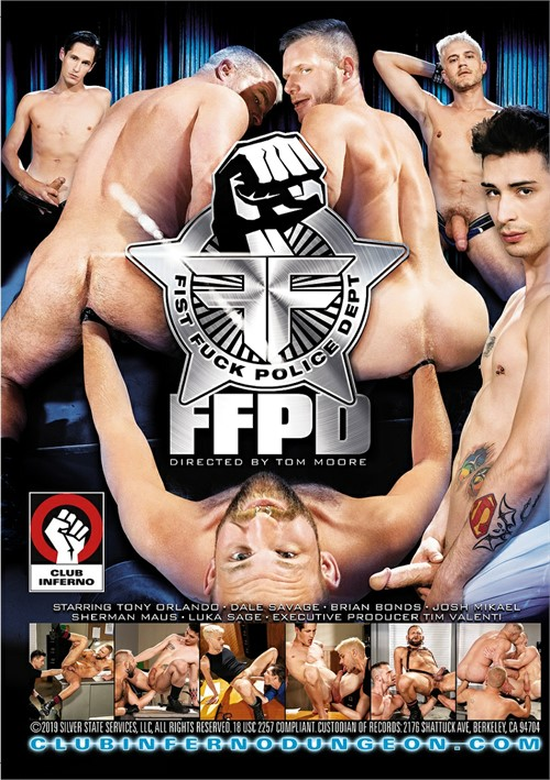 Fist Fuck Police Department Back Cover