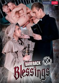 Bareback Blessings gay porn DVD from Staxus
