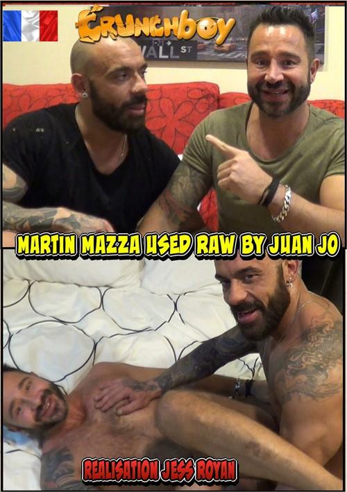 Martin Mazza Used Raw by Juan Jo Boxcover