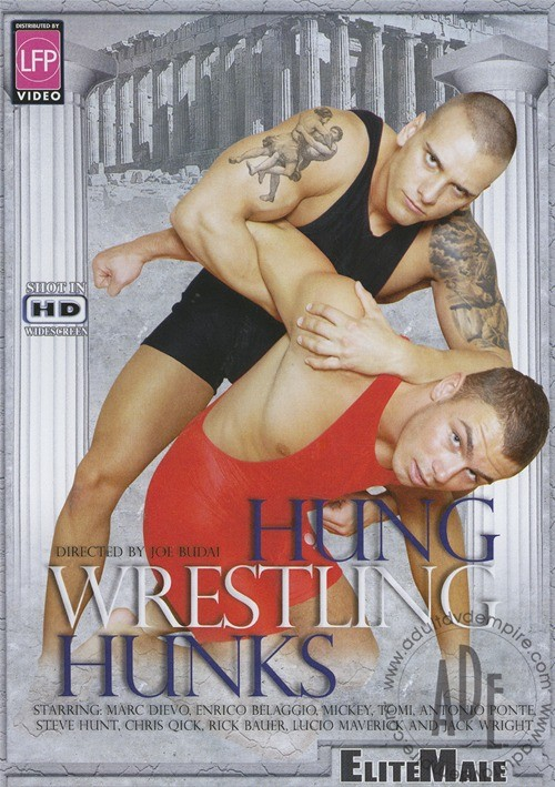 Hung Wrestling Hunks Boxcover