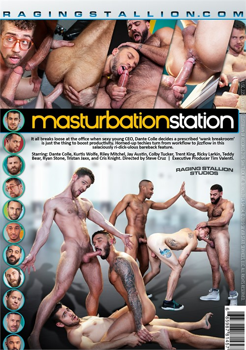 Masturbation Station Cover Front