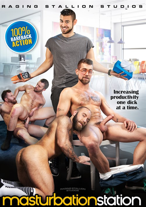Masturbation Station Cover Front