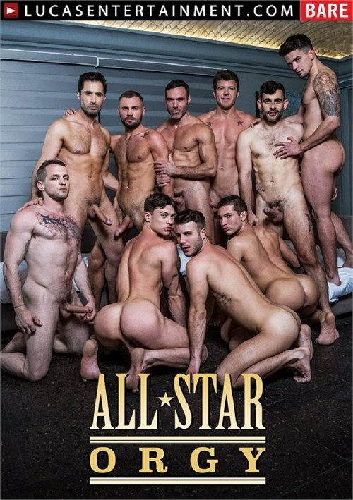 All-Star Orgy Cover Front