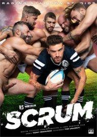 Scrum (Raging Stallion) gay porn DVD from Raging Stallion Studios