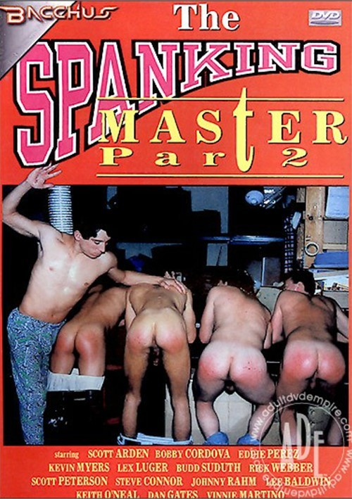 Spanking Master Part 2, The Boxcover