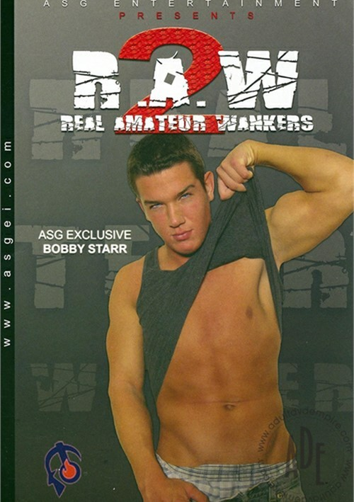 R.A.W. : Real Amateur Wankers 2 Boxcover
