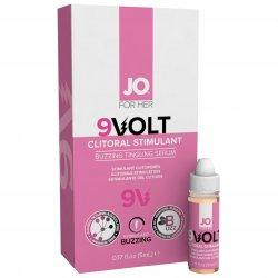 System JO Volt - 9V Buzzing Clit Stimulant Gel - .17 oz (5 ml)