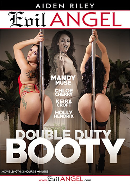 Double Duty Booty Mandy Muse Double Penetration Anal