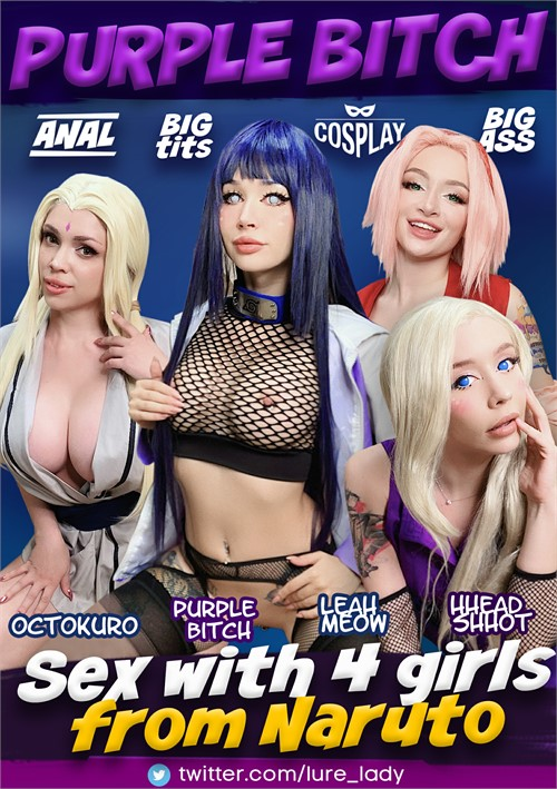 Sex with 4 Girls from Naruto Boxcover