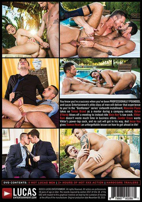 Gentlemen 16 Professionally Pounded Cover Back